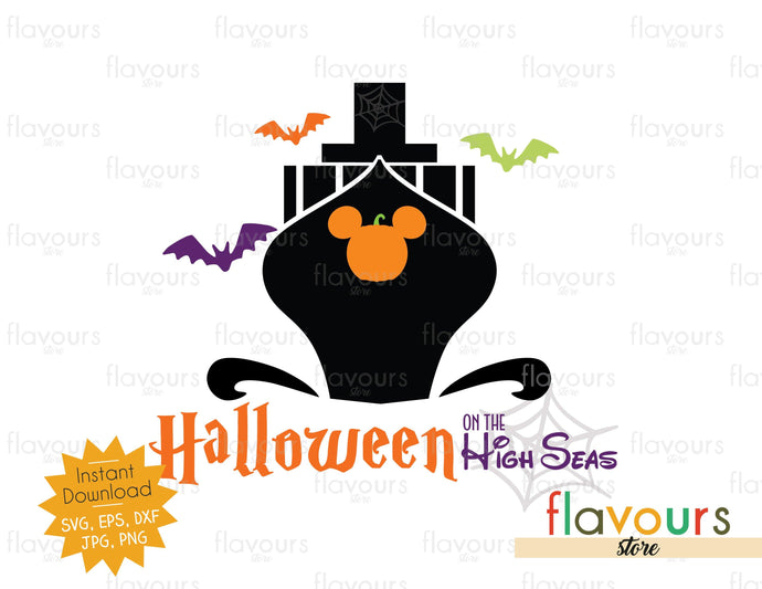 Halloween on the High Seas - SVG Cut File