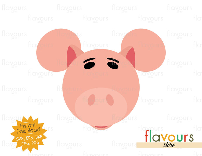 Hamm Ears - Toy Story - SVG File