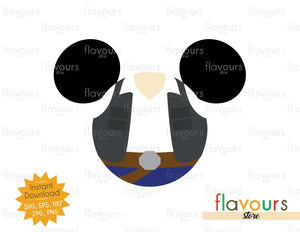 Han Solo Ears - Star Wars - Cuttable Design Files