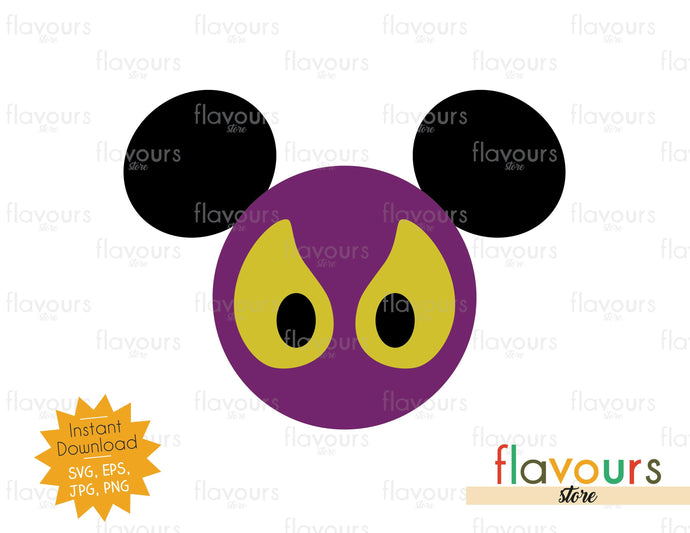 Haunted Mansion Eyes Ears - SVG Cut File