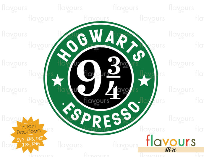 Hogwarts Espresso - SVG Cut File