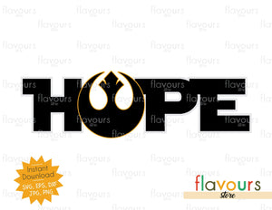 Hope - Star Wars - Cuttable Design Files