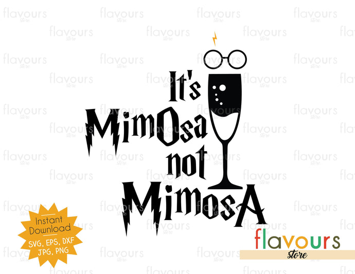 It's MimOsa not MimosA - SVG Cut File