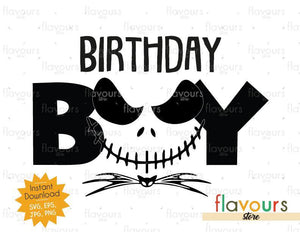 Birthday Boy - Jack - Instant Download - SVG FILES