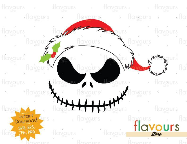Jack Christmas Hat - Christmas - Cuttable Design Files (SVG, EPS, JPG, PNG) For Silhouette and Cricut