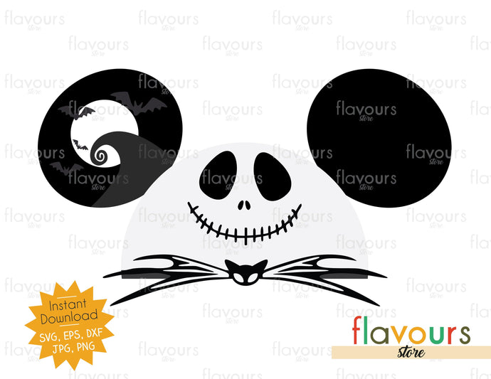 Jack Hat Ears - Instant Download - SVG Cut File