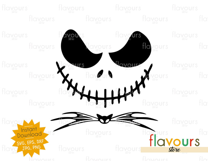 Jack Skellington - SVG Cut File - FlavoursStore