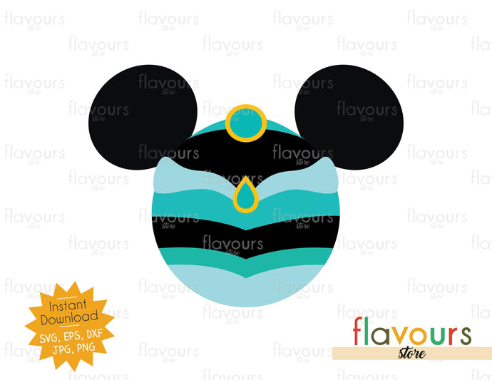 Jasmine Ears - Disney Princess - Cuttable Design Files
