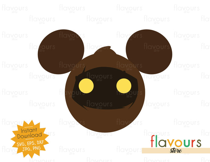 Jawa Ears - Star Wars - SVG Cut File