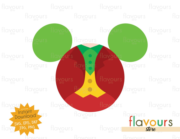 Joker Ears - Instant Download - SVG Cut File