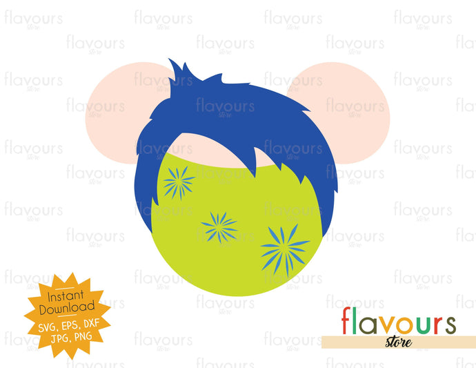Joy - Inside Out - Disney - SVG Cut Files