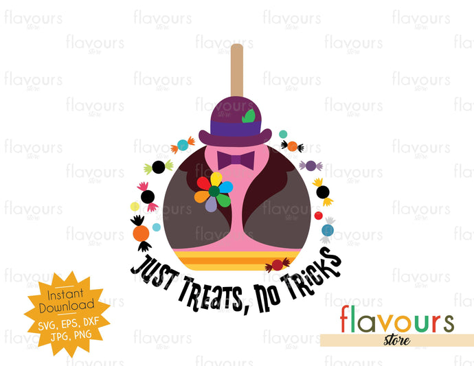 Just Treats, No Tricks - Bing Bong - SVG Cut File