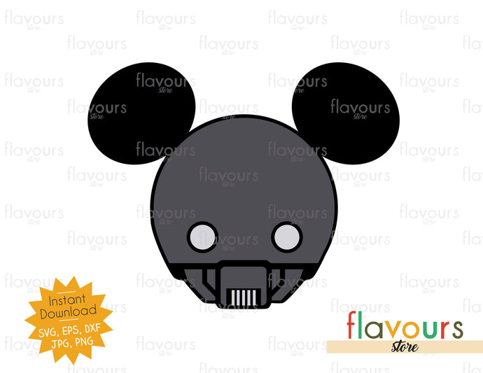 K-2SO Rogue One Ears - Star Wars - Cuttable Design Files