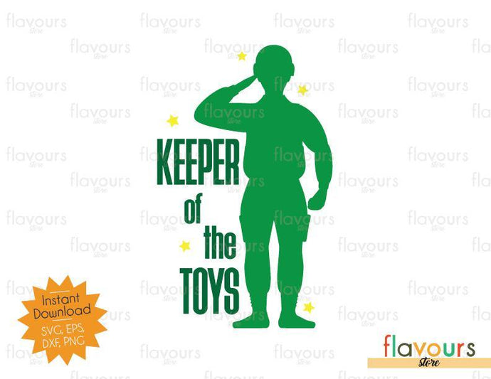 Keeper Of The Toys - Toy Story - SVG Cut File - FlavoursStore