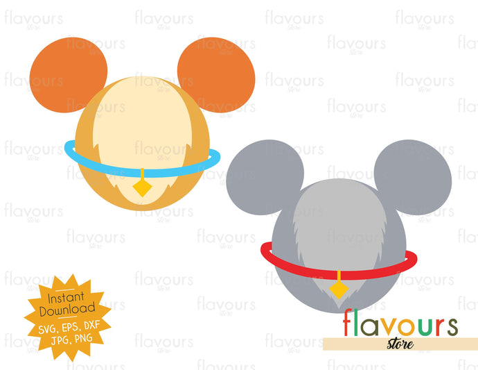 Lady And The Tramp Ears - SVG File