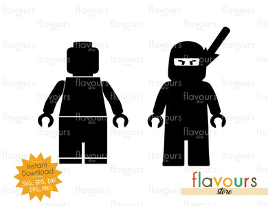Lego Silhouette - Instant Download - SVG Cut File