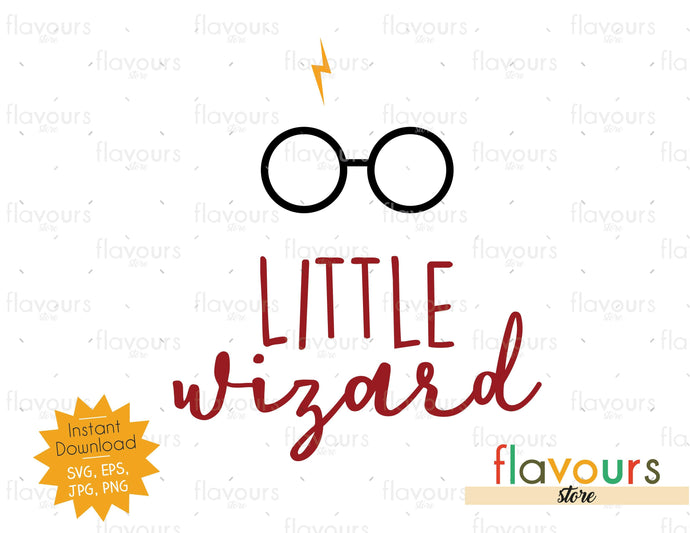 Little Wizard - SVG Cut File