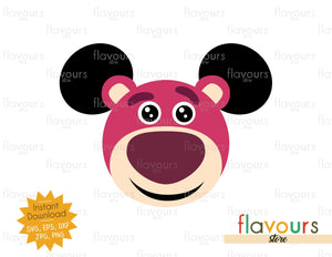 Lotso Ears - Toy Story - SVG File