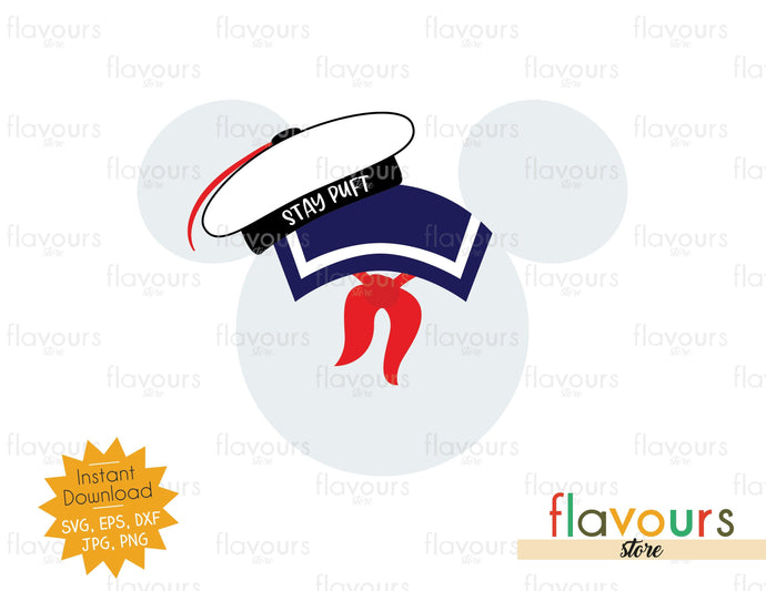 Marshmallow Man Ears - Ghostbusters - SVG Cut File