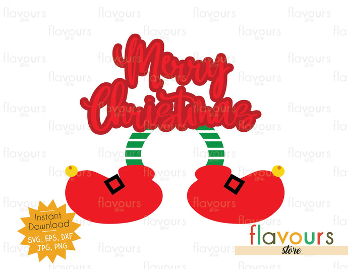 Merry Christmas - Mickey Elf - SVG Cut File - FlavoursStore