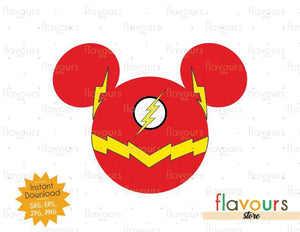 Flash Ears - Instant Download - SVG Cut File