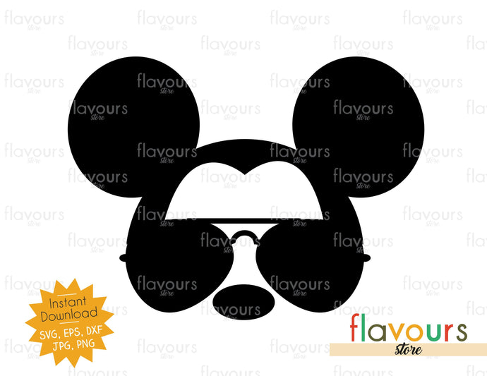 Mickey Head - Instant Download - SVG Cut File