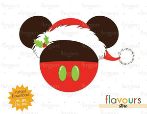 Mickey Holiday Sweets - Disney Christmas - Cuttable Design Files (SVG, EPS, JPG, PNG) For Silhouette and Cricut