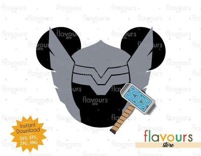 Thor Ears - Instant Download - SVG Cut File