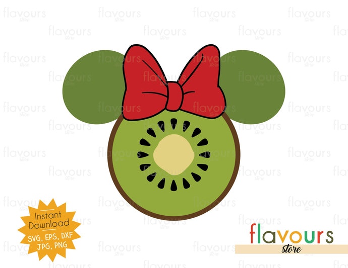 Minnie Kiwi - Instant Download - SVG Cut File - FlavoursStore