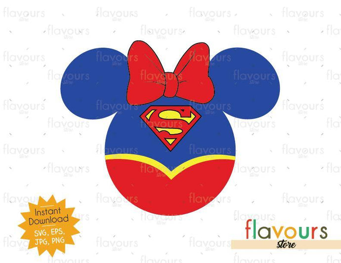 Supergirl Ears - Instant Download - SVG Cut File