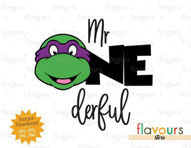 MrOnderful - Donatello - Ninja Turtles - Instant Download - SVG FILES