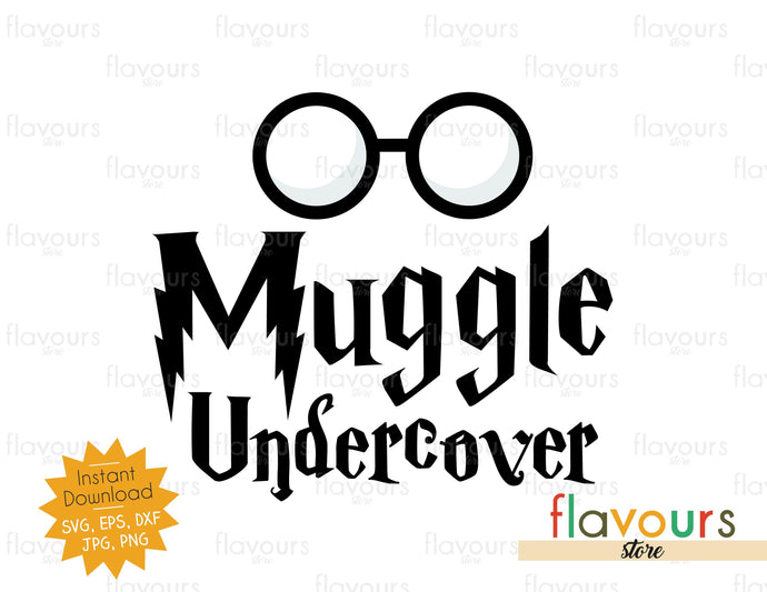 Muggle Undercover - SVG Cut File