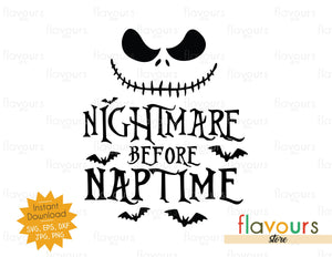 Nightmare before Naptime - Cuttable Design Files
