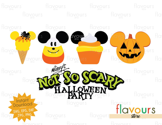Not So Scary Halloween Party - SVG Cut File - FlavoursStore
