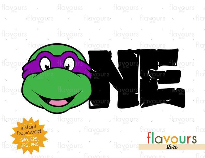 One - Donatello - Ninja Turtles - Instant Download - SVG FILES