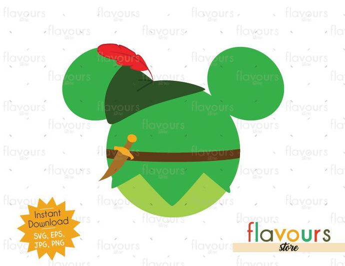 Peter Pan Ears - SVG File