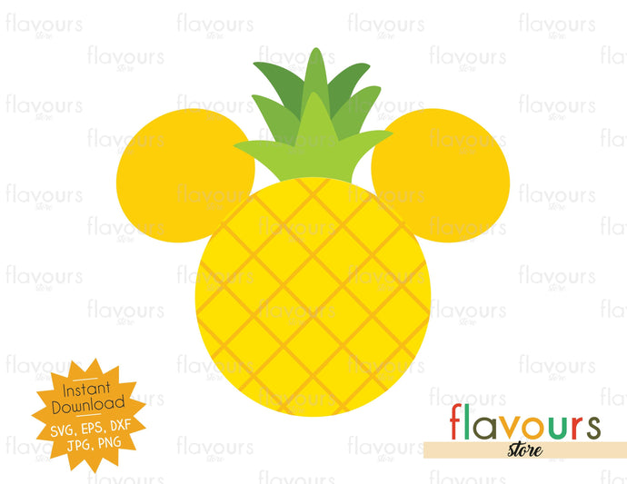 Pineapple Ears - SVG Cut File