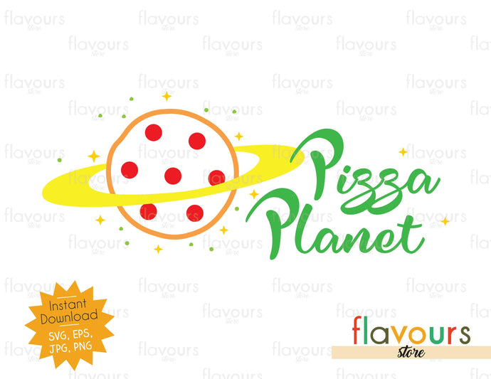 Pizza Planet Icon - Toy Story - Instant Download - SVG File