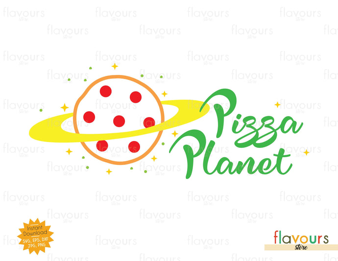 Pizza Planet - Toy Story - SVG Cut File
