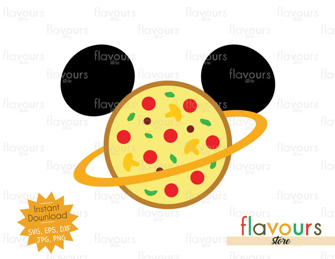 Pizza Planet Ears - Toy Story - SVG Cut Files