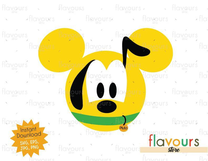 Pluto Ears - SVG File - FlavoursStore