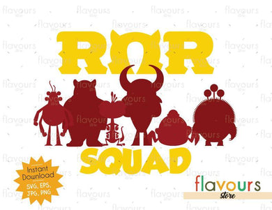 ROR Squad - Monsters Inc - Cuttable Design Files