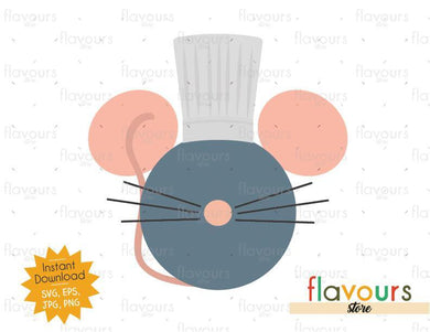 Ratatouille Ears - SVG File