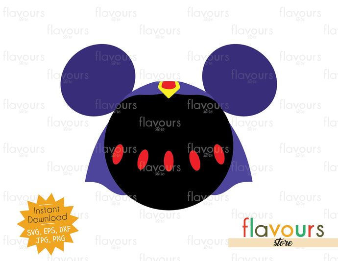 Raven Ears - SVG Cut File - FlavoursStore