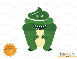 Rex Cupcake - Toy Story - SVG Cut File