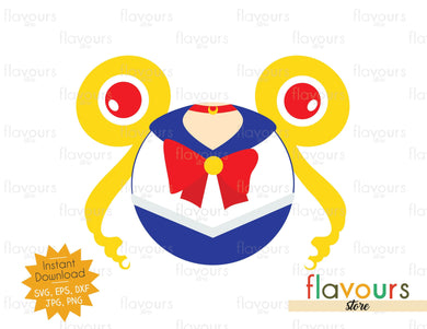 Sailor Moon Ears - SVG Cut File