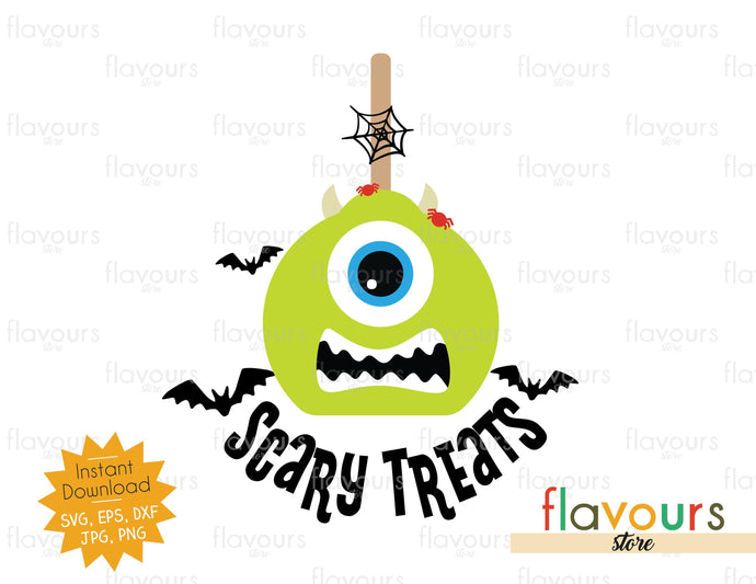 Scary Treats - Mike - SVG Cut File