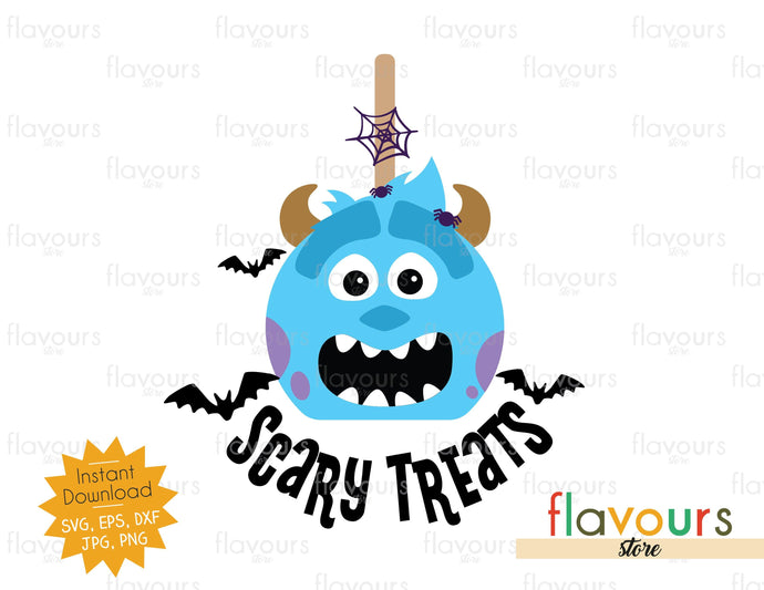 Scary Treats - Sulley- SVG Cut File