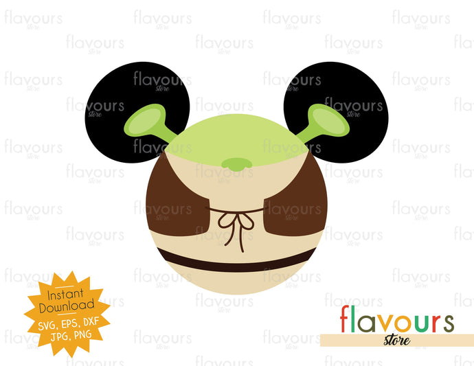 Shrek Ears - SVG Cut File