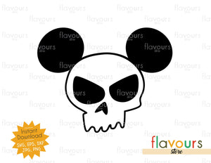 Sid Skull Shirt Ears - Toy Story - SVG File